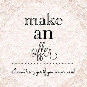 Make me an offer ! 😬